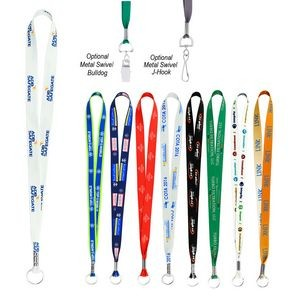 Dye-Sublimation Imported Lanyard