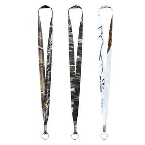 RealTree® Dye Sublimation Lanyard - 3/4""